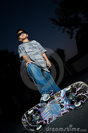 Free Young Skate Boarder Stock Photo - 6589010