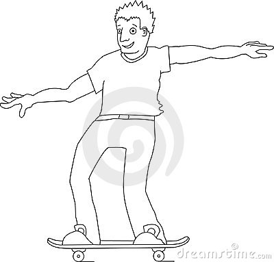 Young Skateboarder