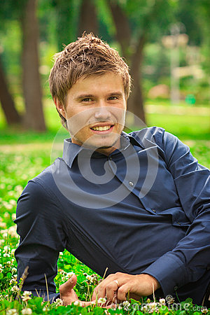 Young Smiling Man Royalty Free Stock Photos - Image: 25480668