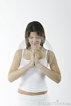 Free Young Spiritual Woman Stock Image - 236081