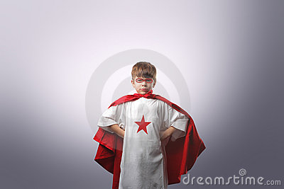 Young superhero