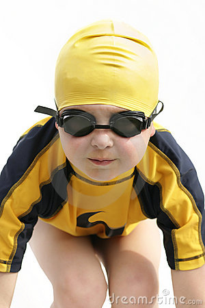 Free Young Swimmer Royalty Free Stock Photo - 30005