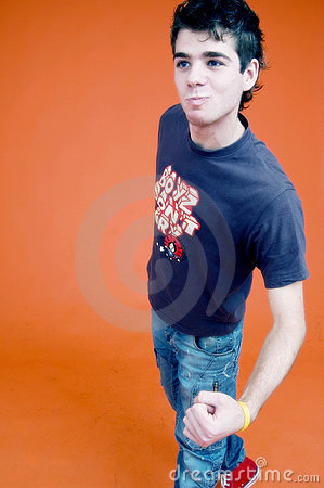 young teen boy  ready to fight royalty free stock images clipart of boy with h clipart of boy playing catch