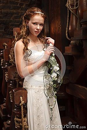 Young tender bride