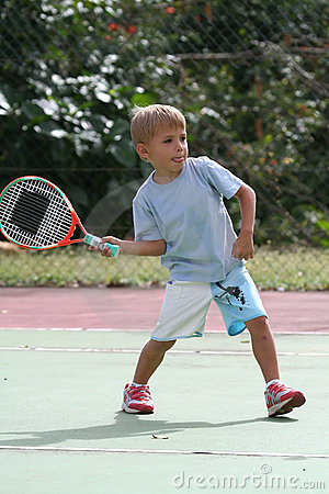 Free Young Tennis Player Stock Photo - 1227070