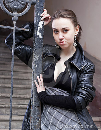 Young urban woman