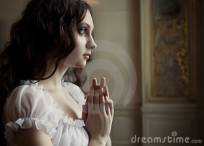 Young Victorian Lady Royalty Free Stock Photography - Image: 10581207