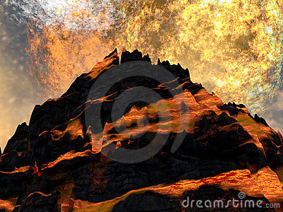 Young volcano