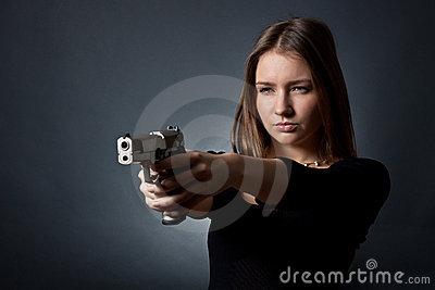 The young- woman agent