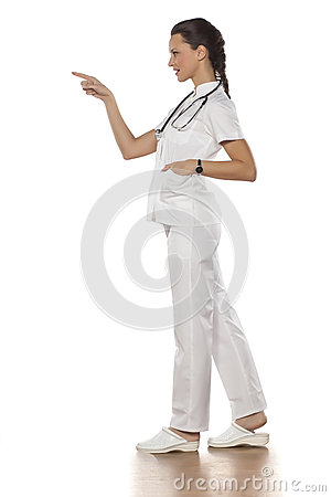 Free Young Woman Doctor Royalty Free Stock Photography - 90307557