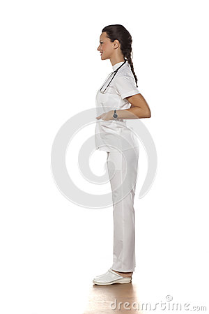 Free Young Woman Doctor Stock Photography - 90340252