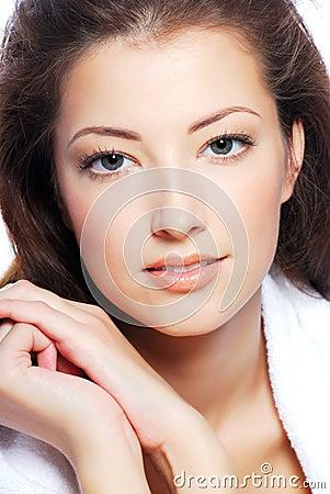 Free Young Woman Face Stock Photos - 7165443