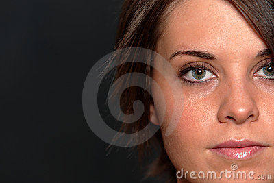 Young Woman Face Shot