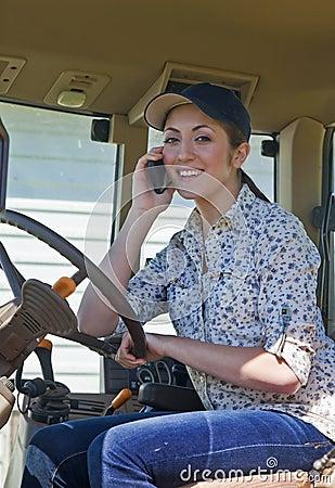 Free Young Woman Farmer Stock Image - 25115741