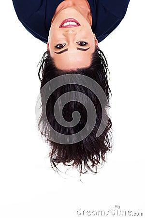 Head upside down