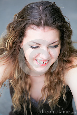 Free Young Woman Laughing Stock Photos - 28435273