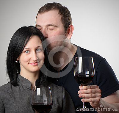 Young woman and man