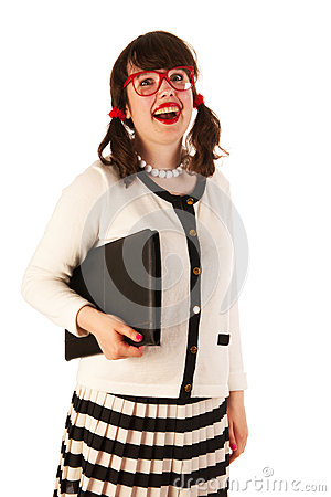 Young Woman At The Office Stock Images - Image: 27819844