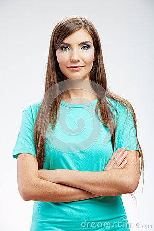 Young woman   portrait,