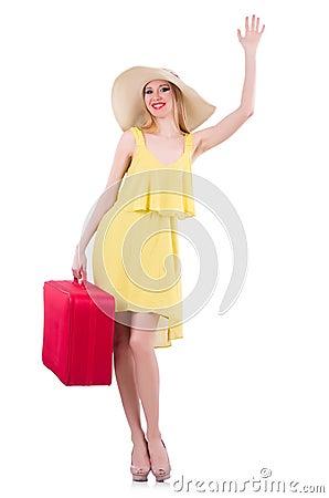 Young woman preparing