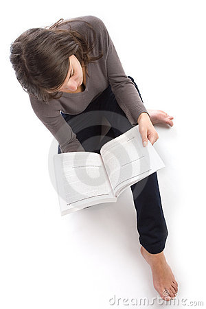 Free Young Woman Reading Stock Photo - 1288680