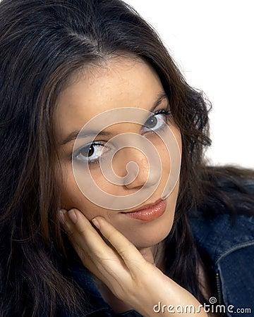 Young womans portrait