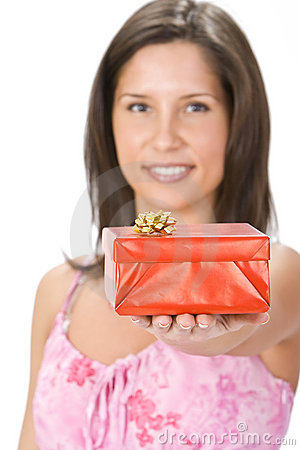 Your red gift box