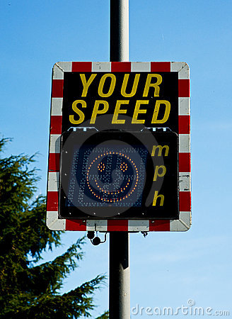 Your speed: smiling face.