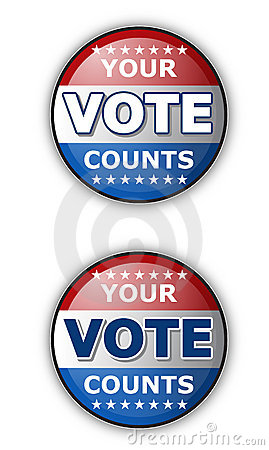 Free Your Vote Royalty Free Stock Image - 16232846