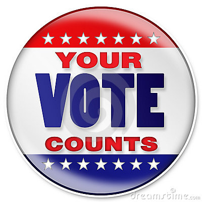 Free Your Vote Royalty Free Stock Images - 6769429