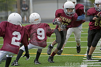 Youth American football Vikings Editorial Image
