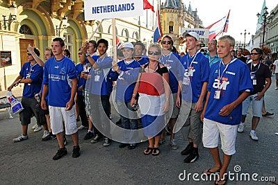 Youth Football Festival Kaposvar Editorial Image