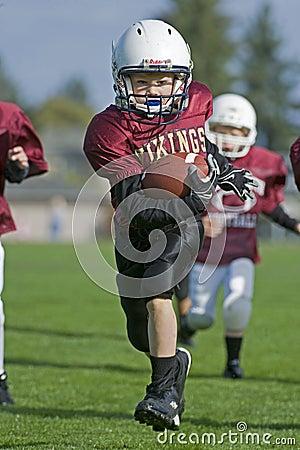 Free Youth Football Run To The Endzone Stock Photos - 11322743