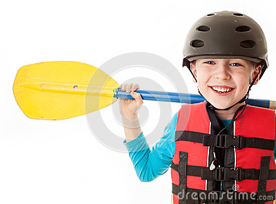 Youth Kayaker