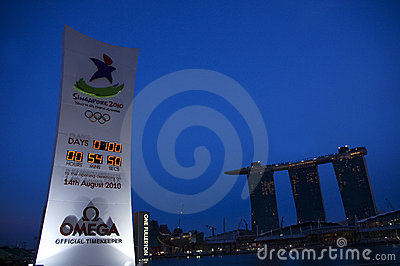 Youth olympic games, singapore 2010 Editorial Photo
