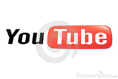 Youtube Editorial Stock Image