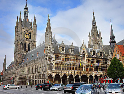 Ypres Town in Belgium