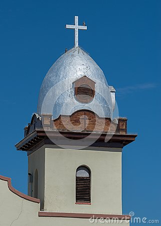 Free Ysleta Mission Tower Stock Images - 101713174
