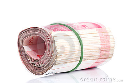 Yuan notes. China Currency
