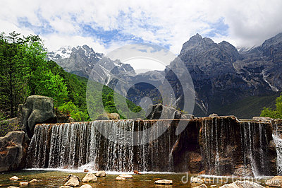 Yulong Mountain in Lijiang