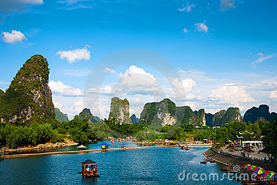 Yulong River in Guilin