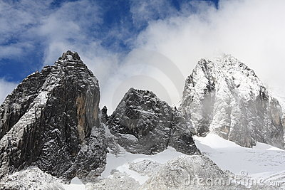 Yulong snow mountain