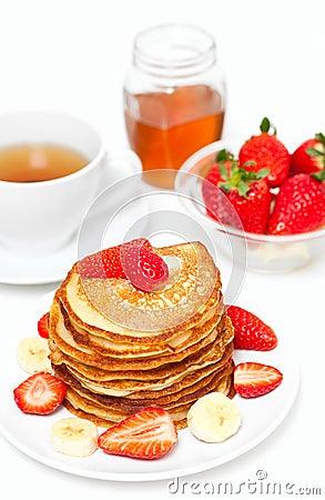 Yummy buttermilk pancakes