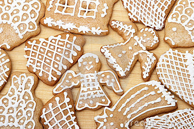 Yummy Christmas Ginger Bread Cookies