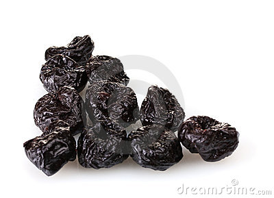 Yummy dried plums