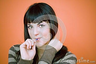 Yummy lollipop.