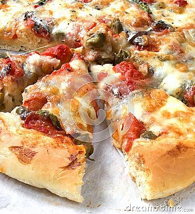 Free Yummy Pizza Stock Photo - 4341300