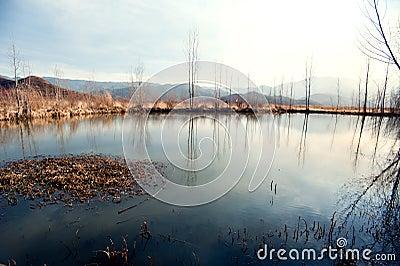 Yunnan, China, Lugu Lake scenery