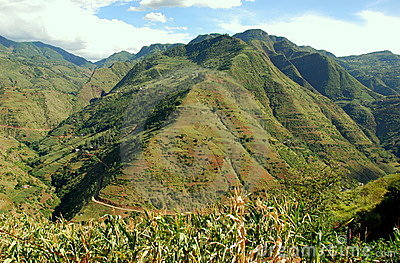 Yunnan Province, China: Mountain Scenery