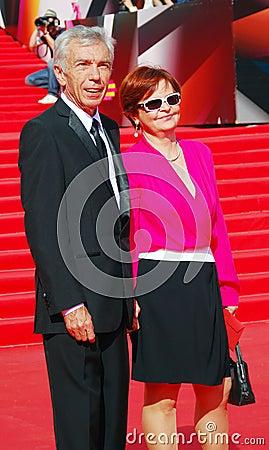 Yuri Nikolaev at Moscow Film Festival Editorial Stock Photo